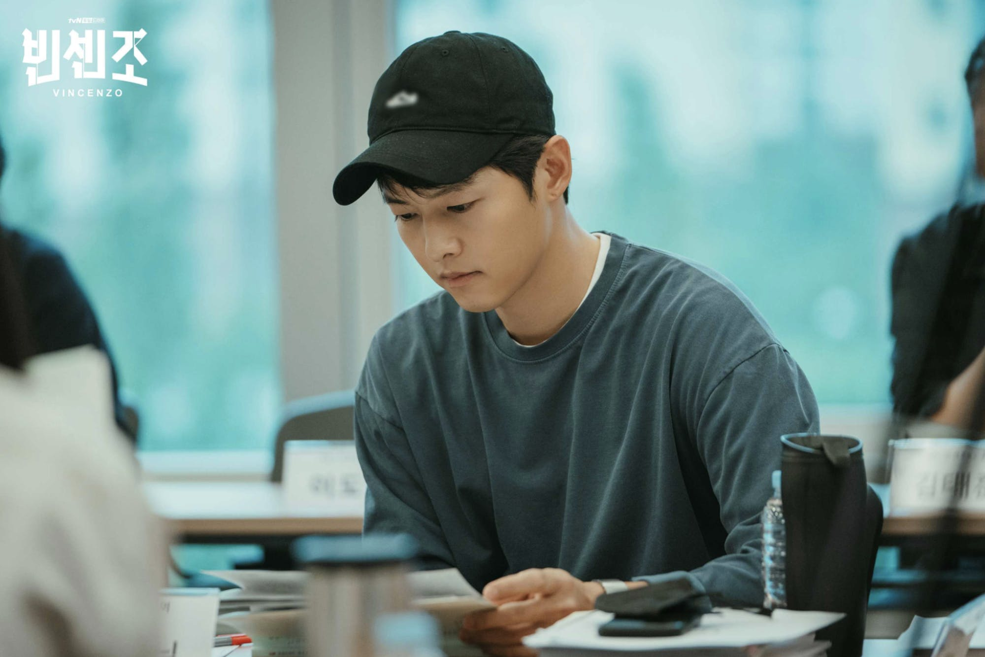 Song Joong-ki preparing to play the role of Vincenzo