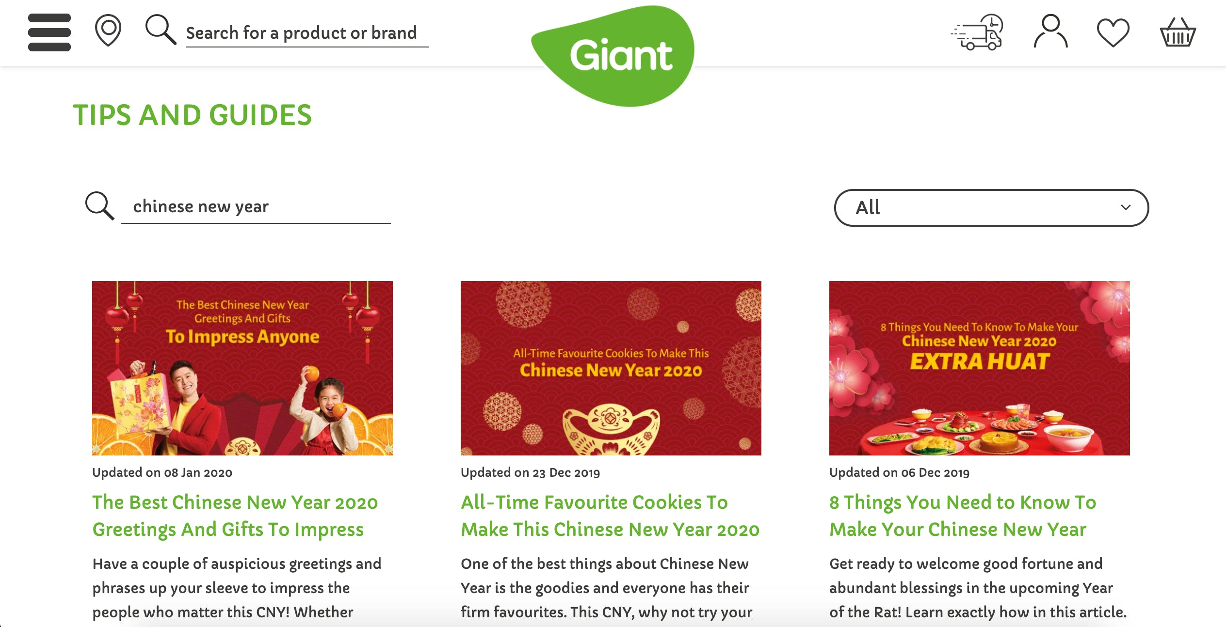 4 Tips On Chinese New Year Marketing during Phase 3 Giant Singapore's CNY Articles