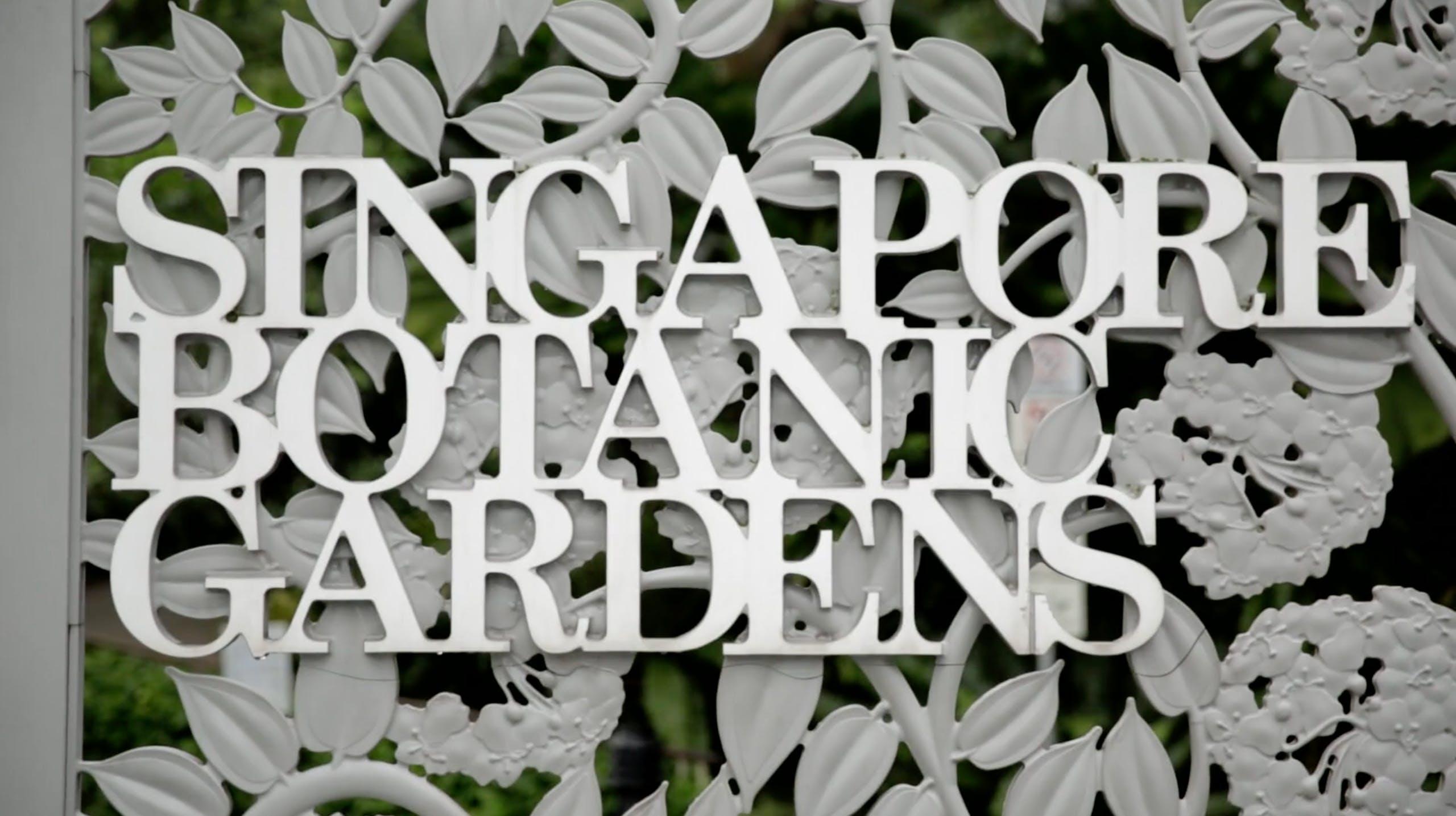 Singapore Botanic Gardens, UNESCO World Heritage Site National Parks Board