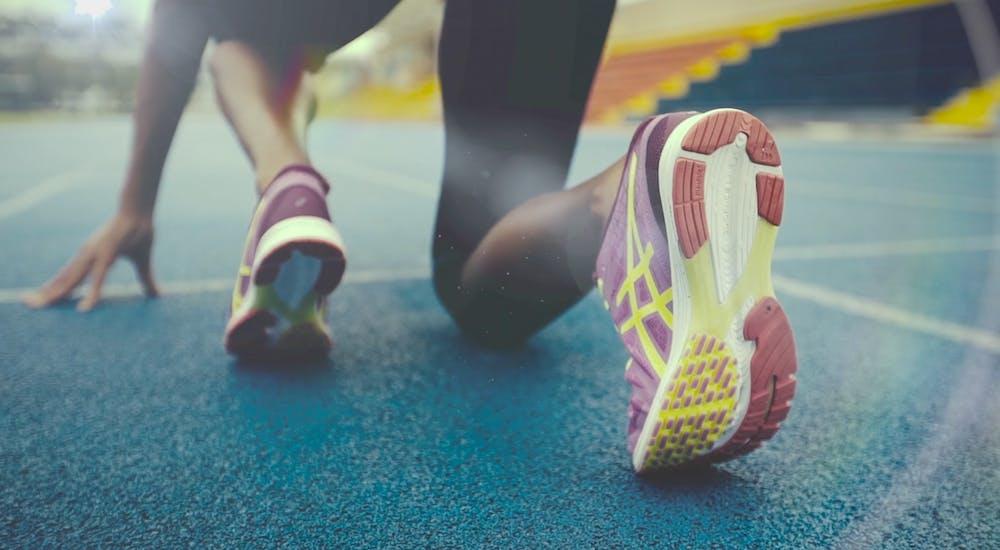 Run Fast Asics