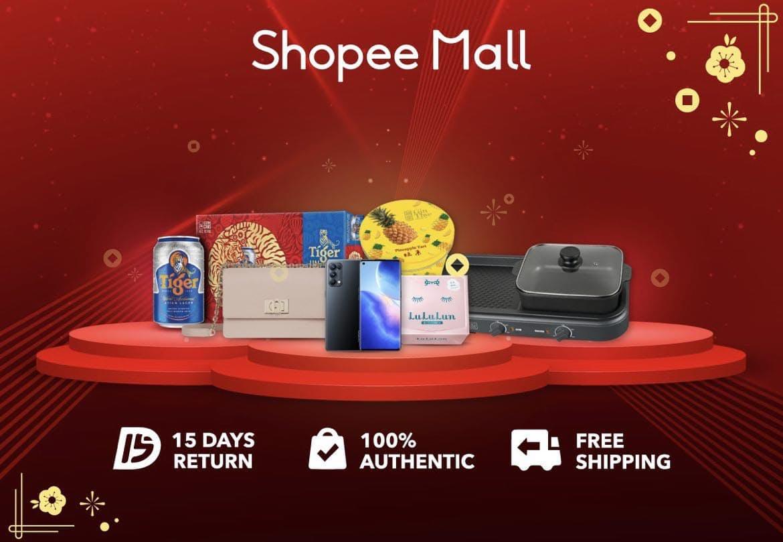 Shopee Mall Banner