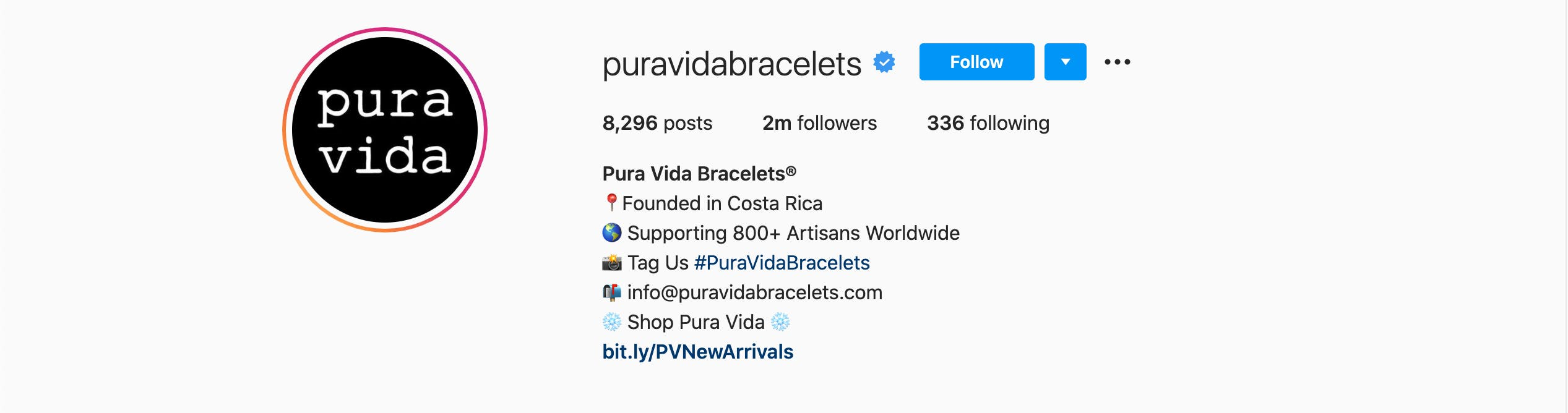 A Step By Step Guide To Crafting An Appealing Instagram Bio puravidabracelets Instagram bio