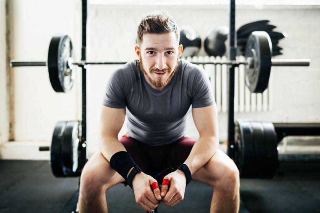 Gym dude