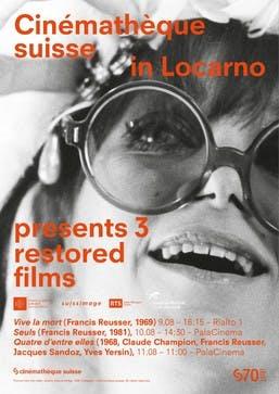 """""""Vive la mort"""" de Francis Reusser au Festival du film de Locarno dans le cadre de la section """"Cinéma Suisse redécouvert""""."""