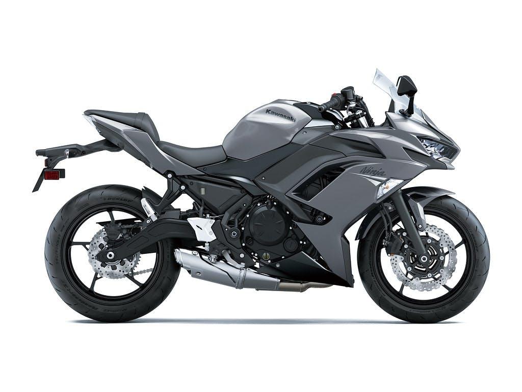Kawasaki 2021 NINJA 650L in Metallic Graphite Gray with Metallic Spark Black colour