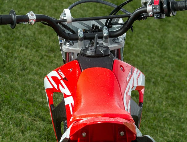 Honda CRF125F electric starter
