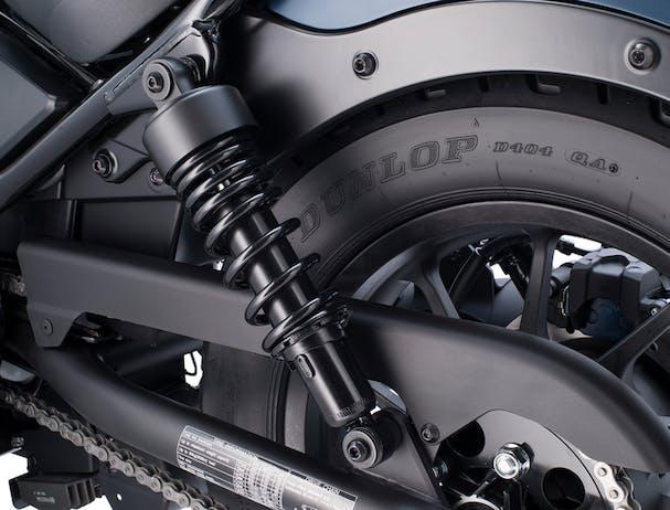 Honda CMX500 rear fender