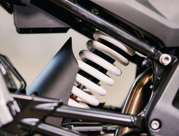 BMW G 310 GS rear suspension