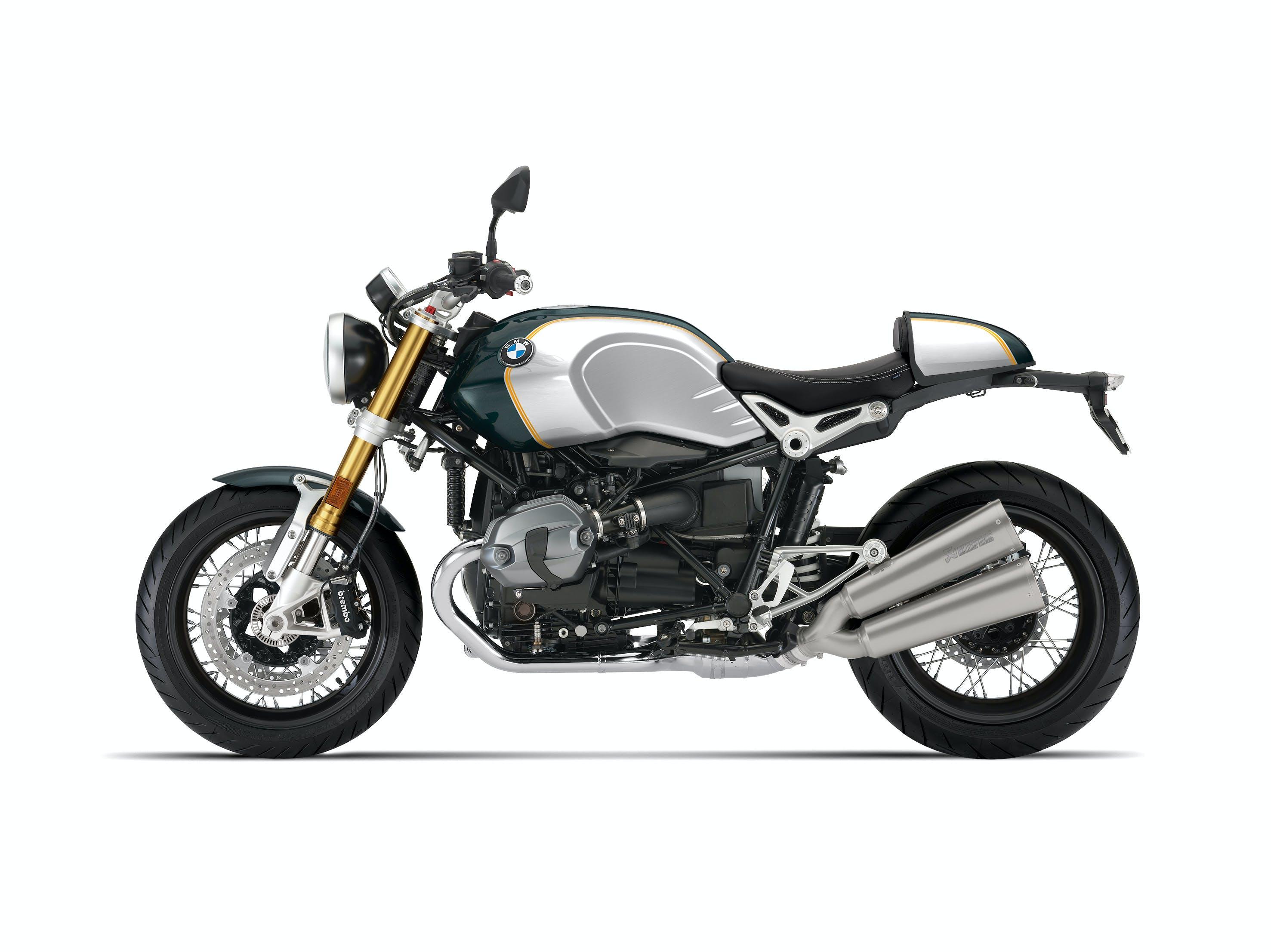 BMW R NINET SPEZIAL in opt 719 pollux metallic / aluminium colour