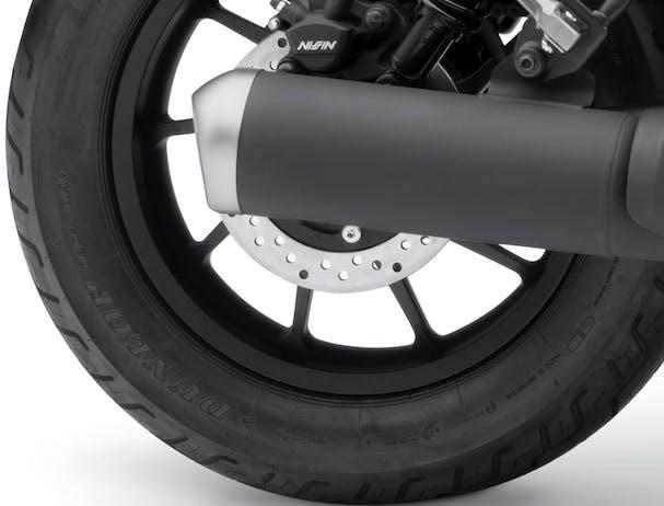 Honda CMX500 rear tyre