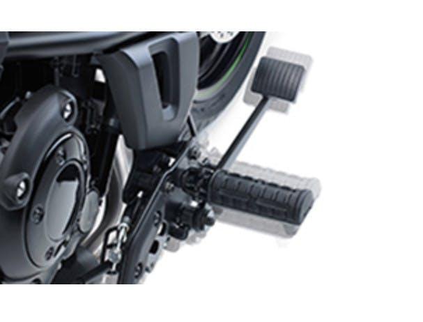 Kawasaki Vulcan S SE's footrest