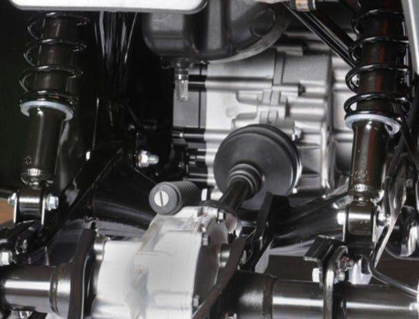 SUZUKI KINGQUAD 400 ASI 4x4 mode selector lever