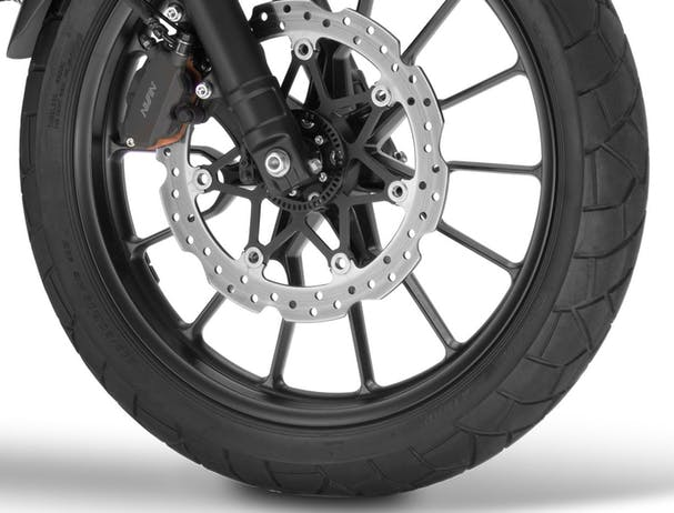 Honda CB500X front wheel