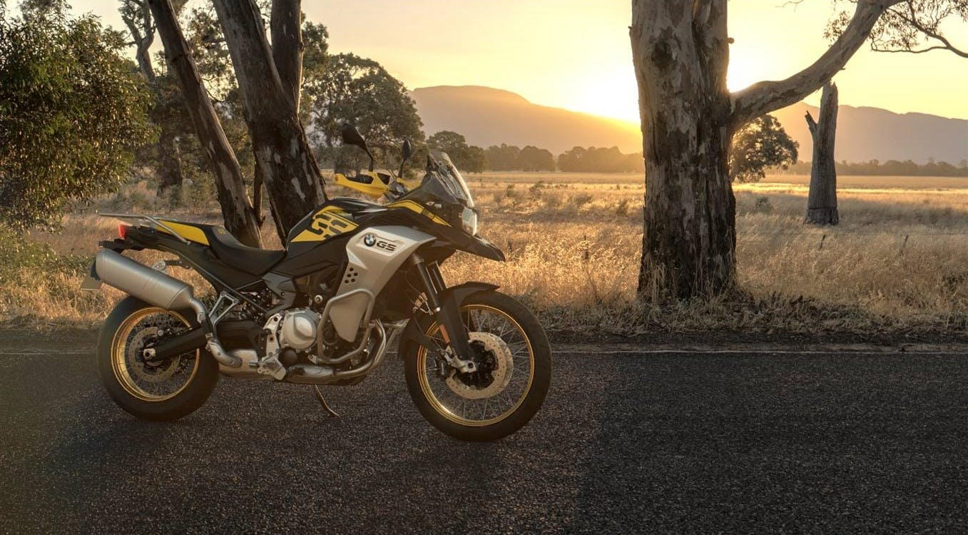 BMW F 850 GS Adventure 40 Years GS Edition, parked