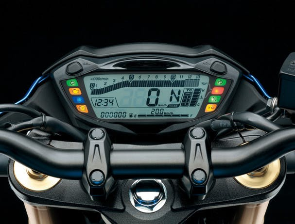 SUZUKI GSX-S750 instrument panel