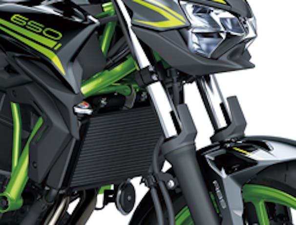 Kawasaki Z650L SE forks