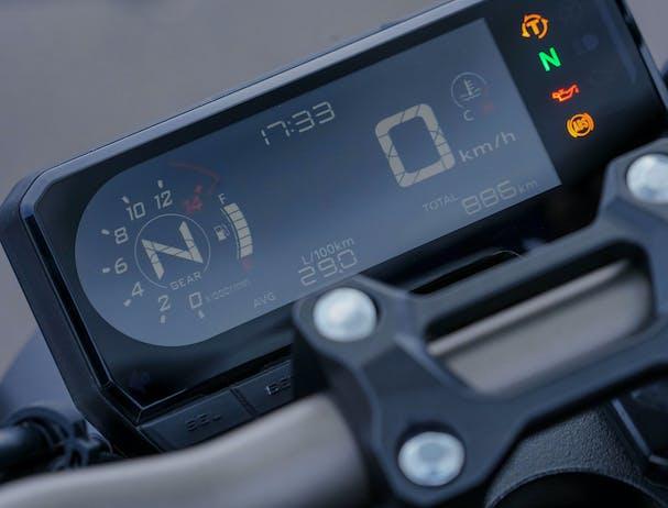 Honda CB650R speedometer