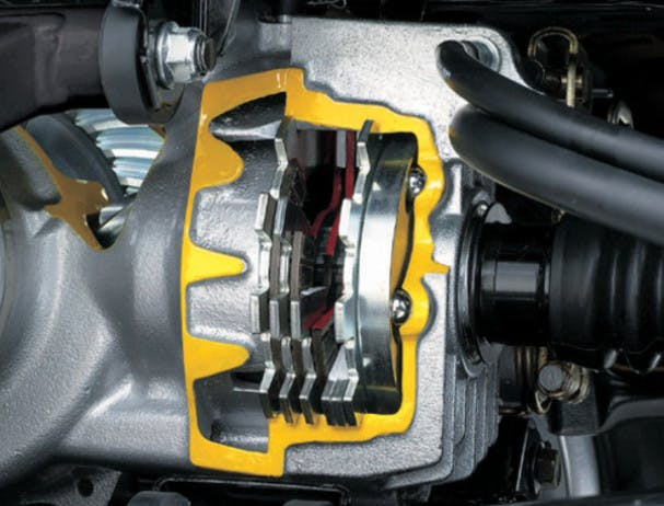 SUZUKI KINGQUAD 500AXI 4x4 rear brake
