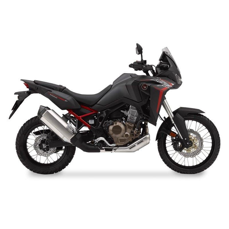 Honda Africa Twin in Matte Ballistic Black Metallic colour