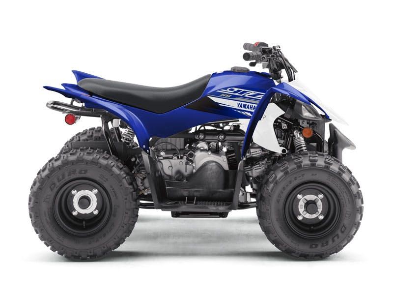 Yamaha YFZ50 in Team Yamaha Blue and White colour