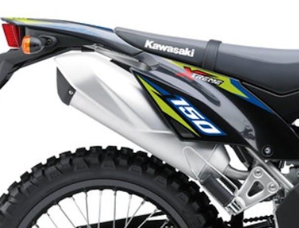 Kawasaki KLX150BF SE exhaust