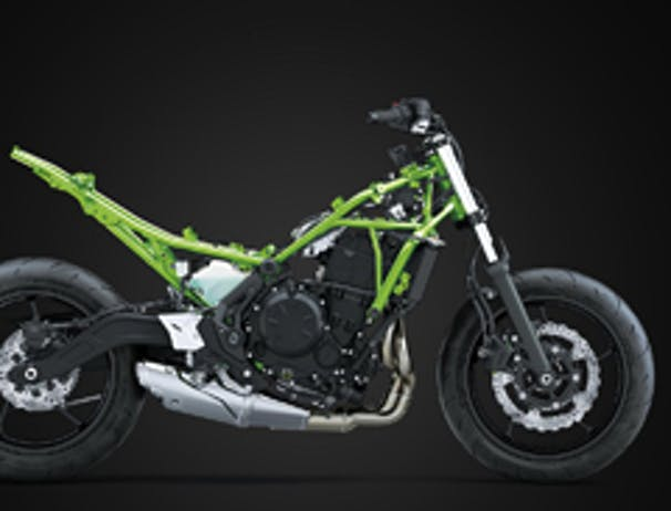 Kawasaki Z650L body frame