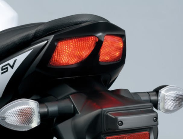 SUZUKI SV650 LEARNER APPROVED tail light