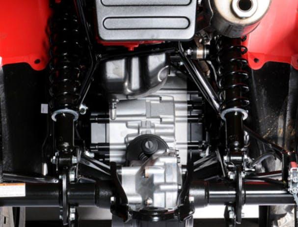 SUZUKI KINGQUAD 400 FSI 4x4 rear suspension