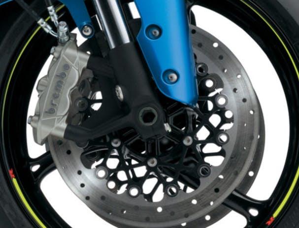SUZUKI GSX-R750 front brakes