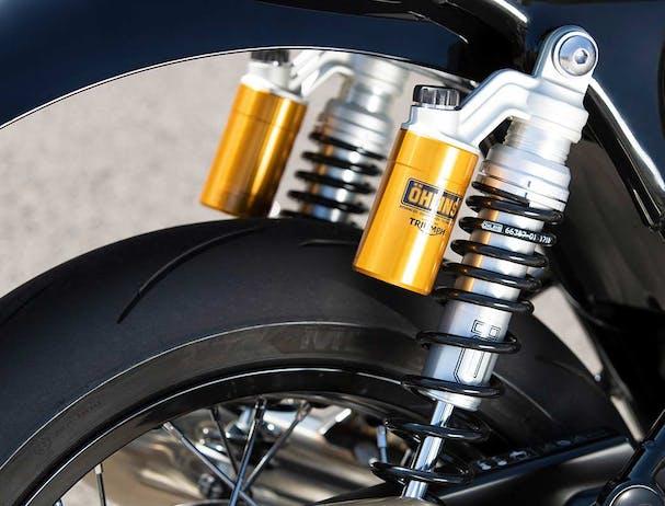 Triumph Thruxton RS suspension