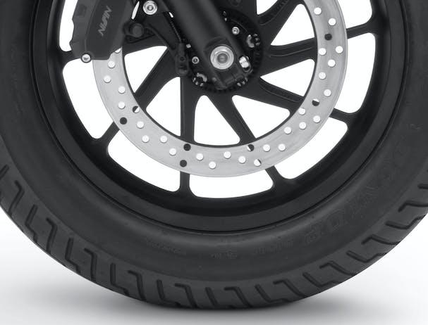 Honda CMX500 aluminum wheel