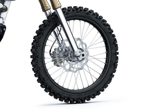 Kawasaki KX250X front wheels