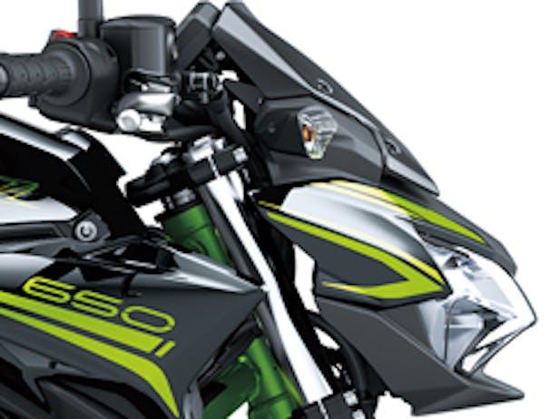 Kawasaki Z650L SE nose