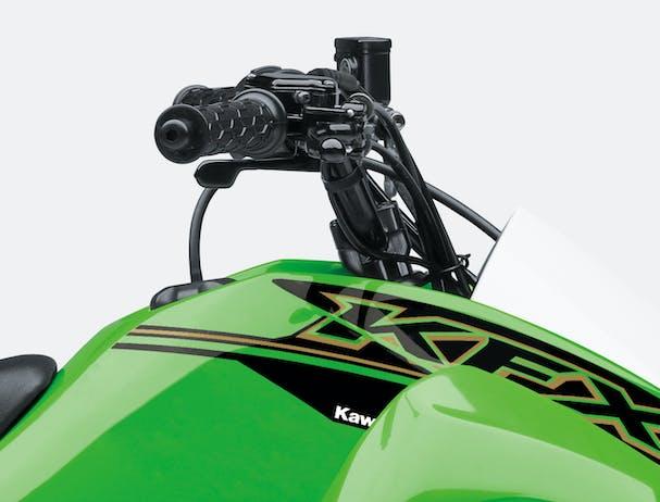 Kawasaki KFX90 grip