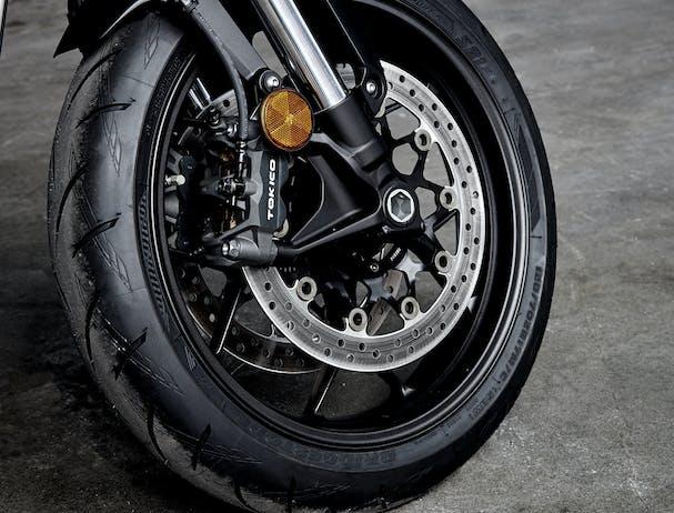 Honda CB1000R front wheel