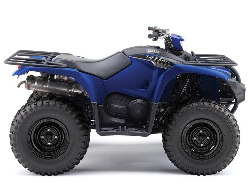 Yamaha Kodiak 450 EPS in steel blue colour