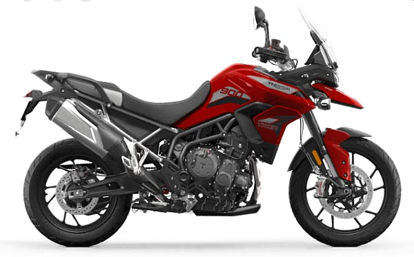 Tiger 900 GT Pro in Korosi Red colour
