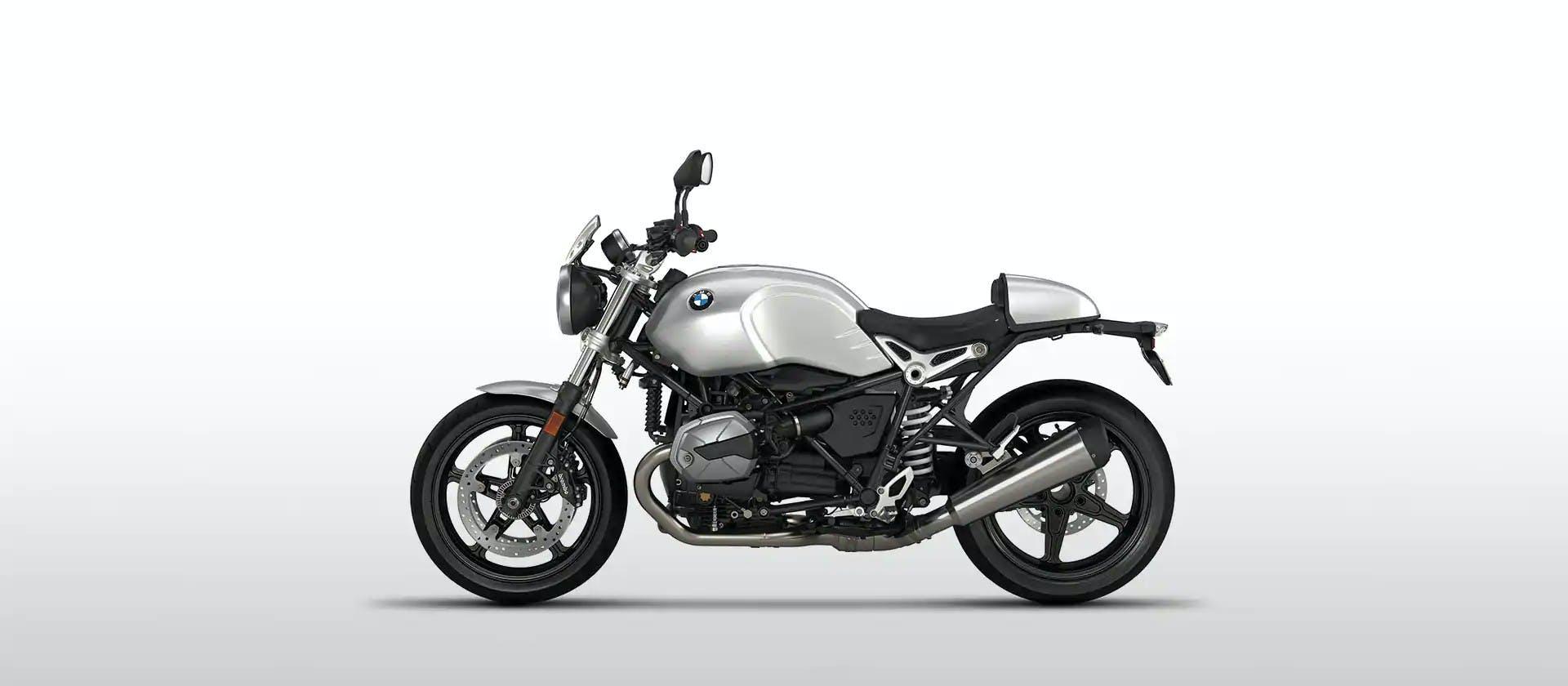 BMW R nineT Pure in Option 719 Aluminium colour