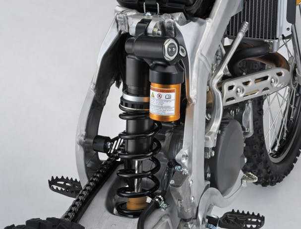 SUZUKI RM-Z450 rear suspension