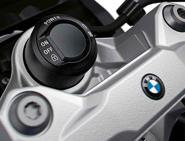 BMW F 900 XR keyless start button