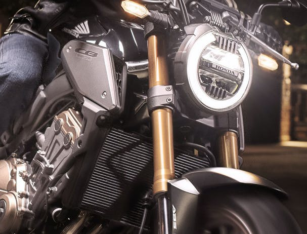 Honda CB650R LED headlight