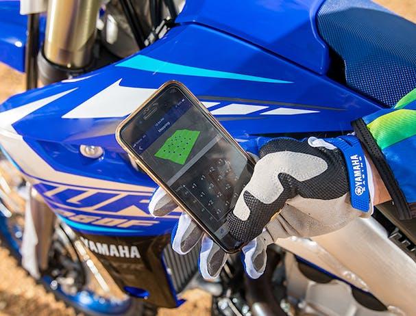 Yamaha WR250F smartphone holder
