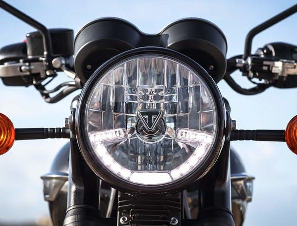 TRIUMPH BONNEVILLE T120 Drl headlight