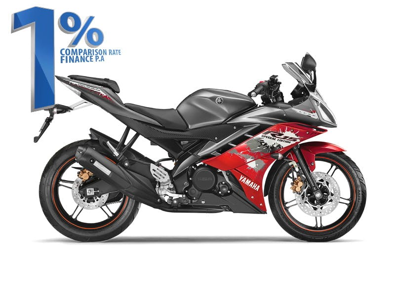 YAMAHA YZF-R15 in Special Edition Grey colour