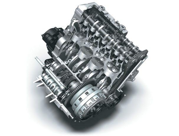 SUZUKI GSX-R600 engine