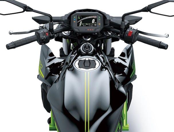 Kawasaki Z650L top shot