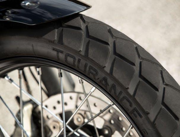 TRIUMPH STREET SCRAMBLER dual-purpose tyres