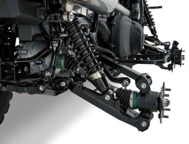 SUZUKI KINGQUAD 500AXI 4x4 suspension