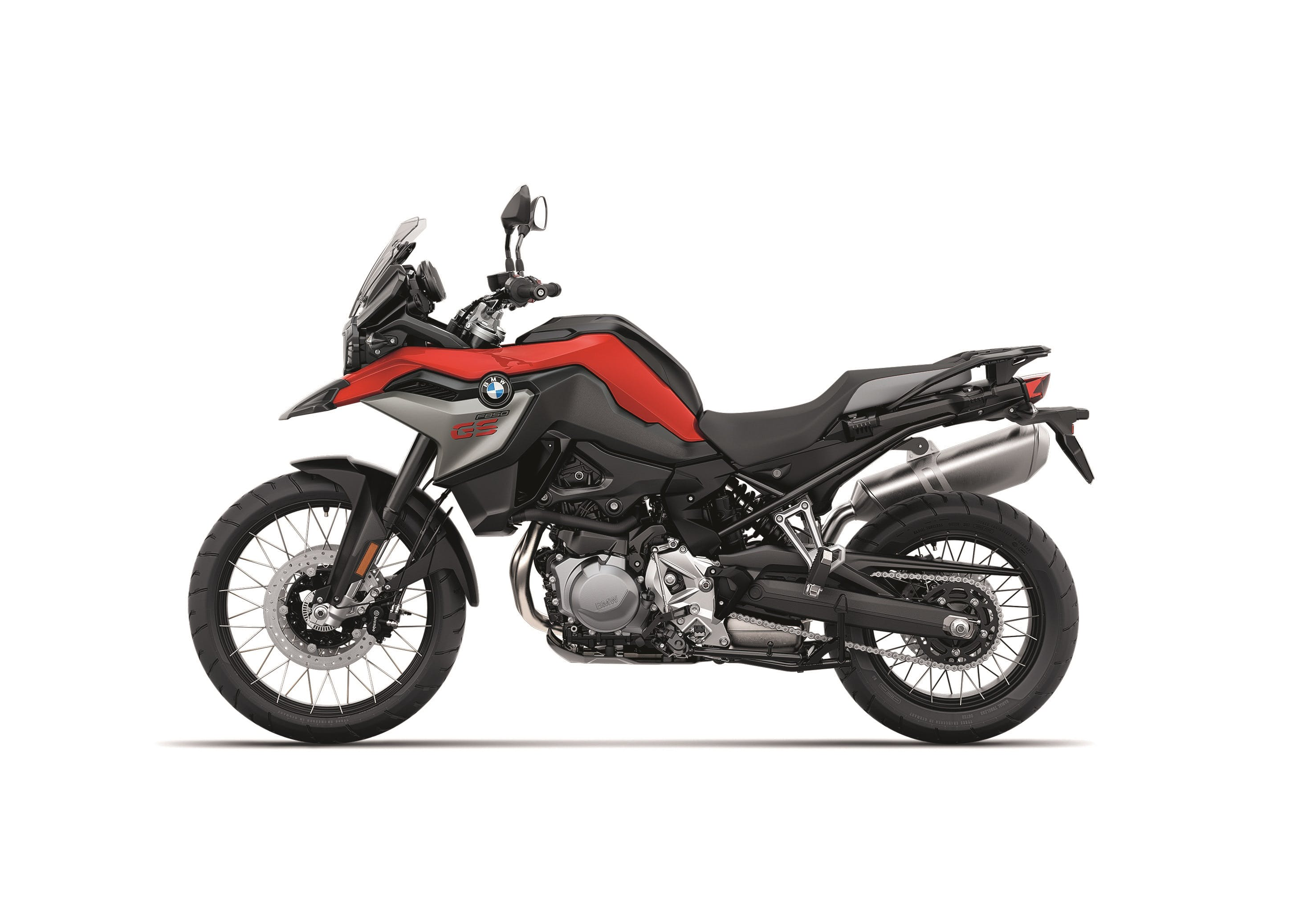 BMW F 850 GS racing red metallic colour