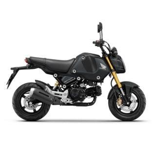 Honda GROM in Matte Gunpowder Black Metallic colour